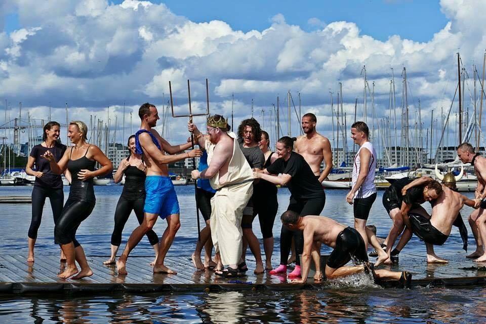 Mød selveste kong Neptun- dåb og fest lørdag 18. august!