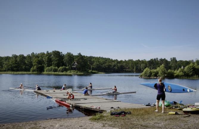Sommer på Hjälmsjö  20. juli - 5. august